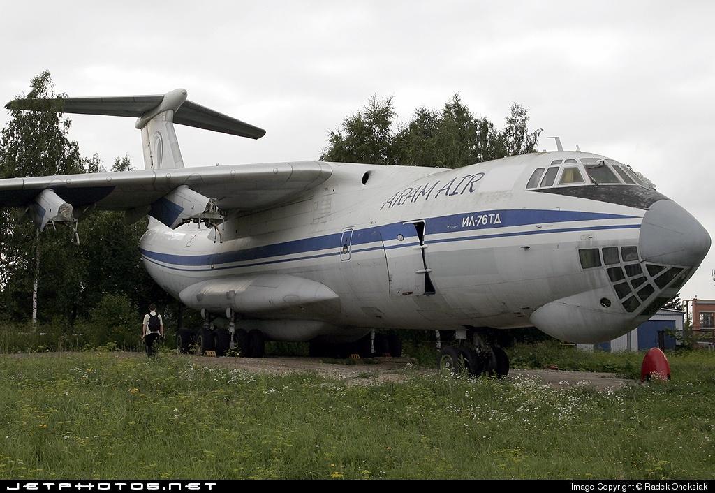RA-76489 - Ilyushin IL-76TD - Aram Air