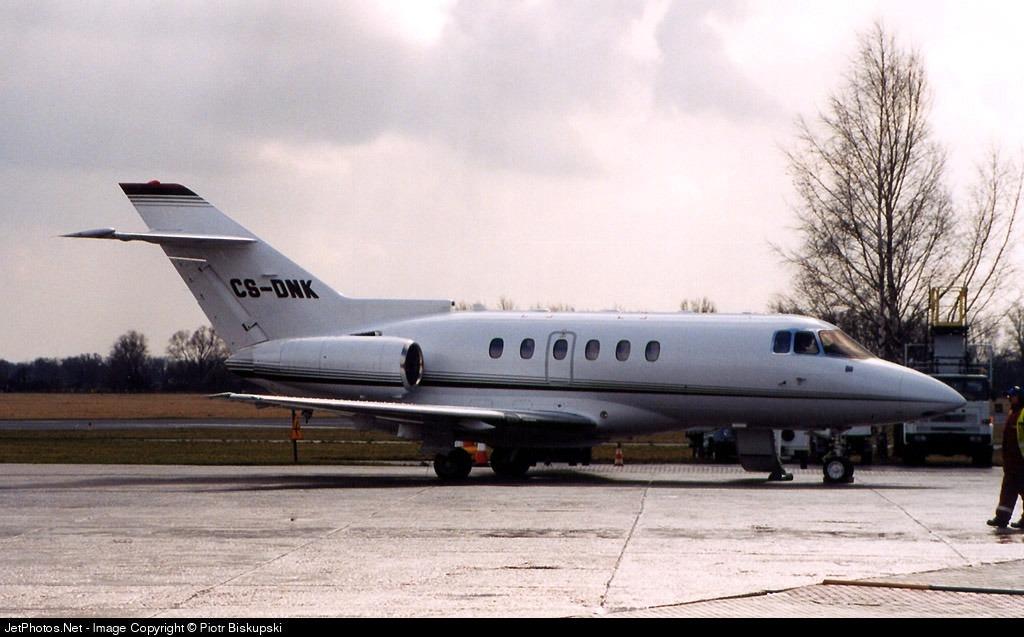 CS-DNK - Raytheon Hawker 800XP - NetJets Europe