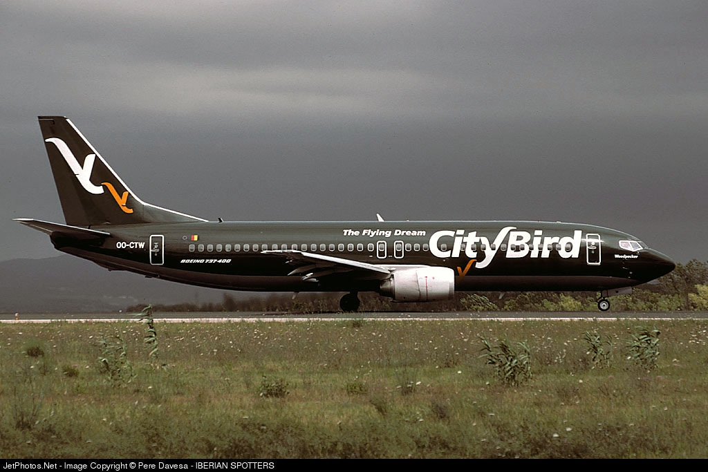 OO-CTW - Boeing 737-46Q - CityBird