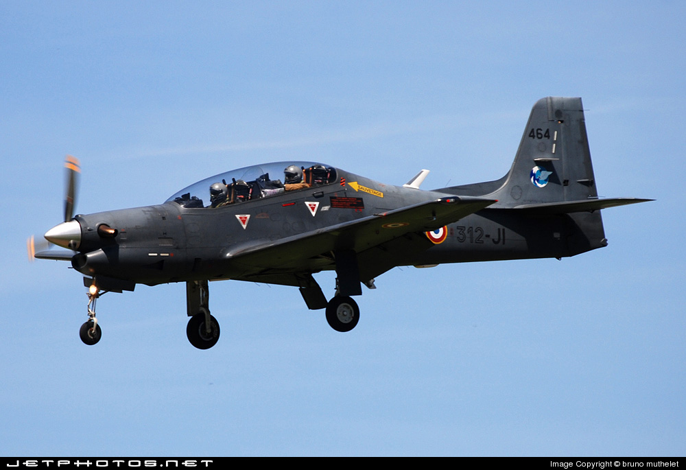 464 - Embraer EMB-312F Tucano - France - Air Force