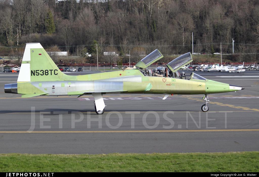 N538TC - Northrop T-38A Talon - Boeing Company