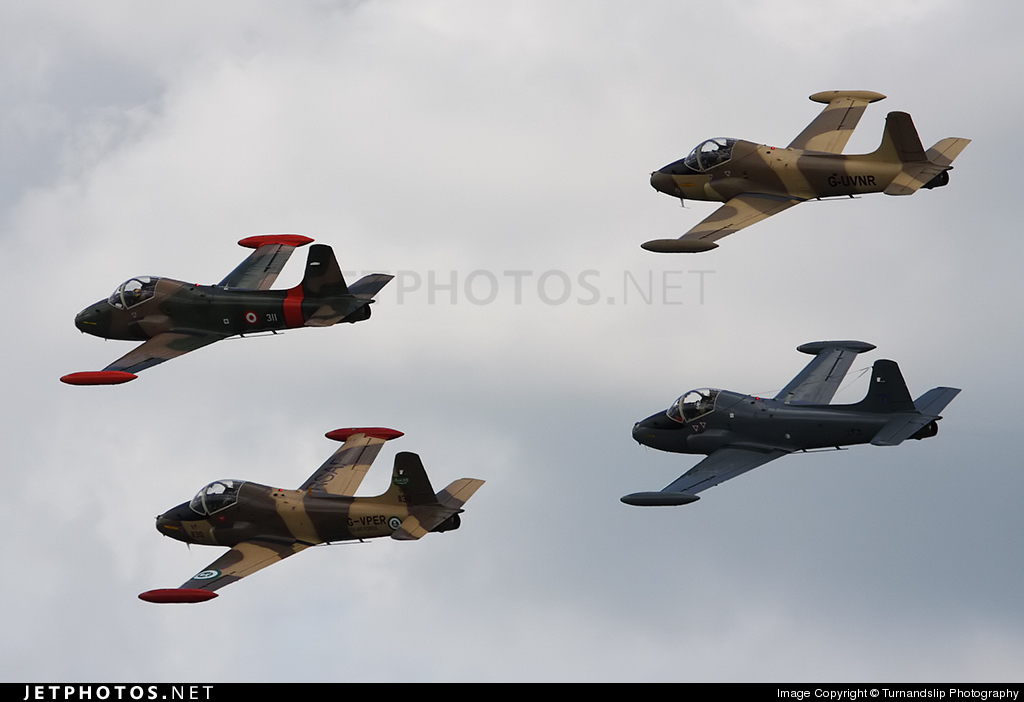 G-VPER - British Aircraft Corporation BAC 167 Strikemaster - Private