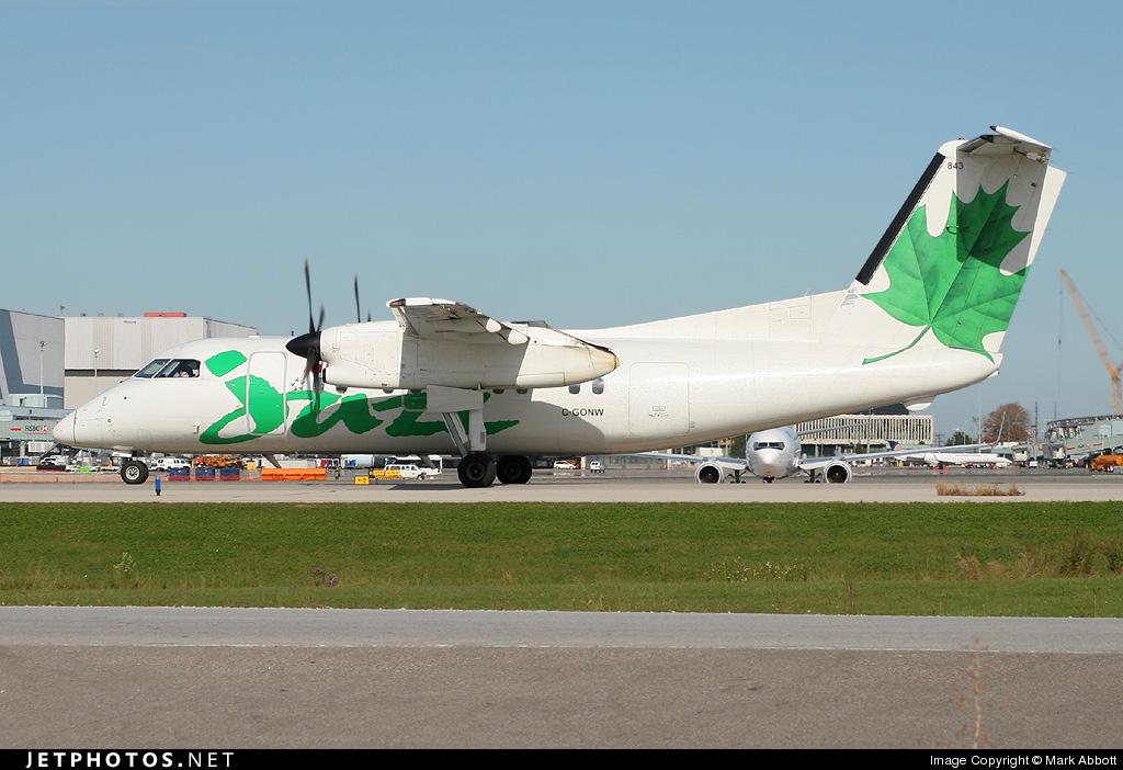 C-GONW - Bombardier Dash 8-102 - Air Canada Jazz
