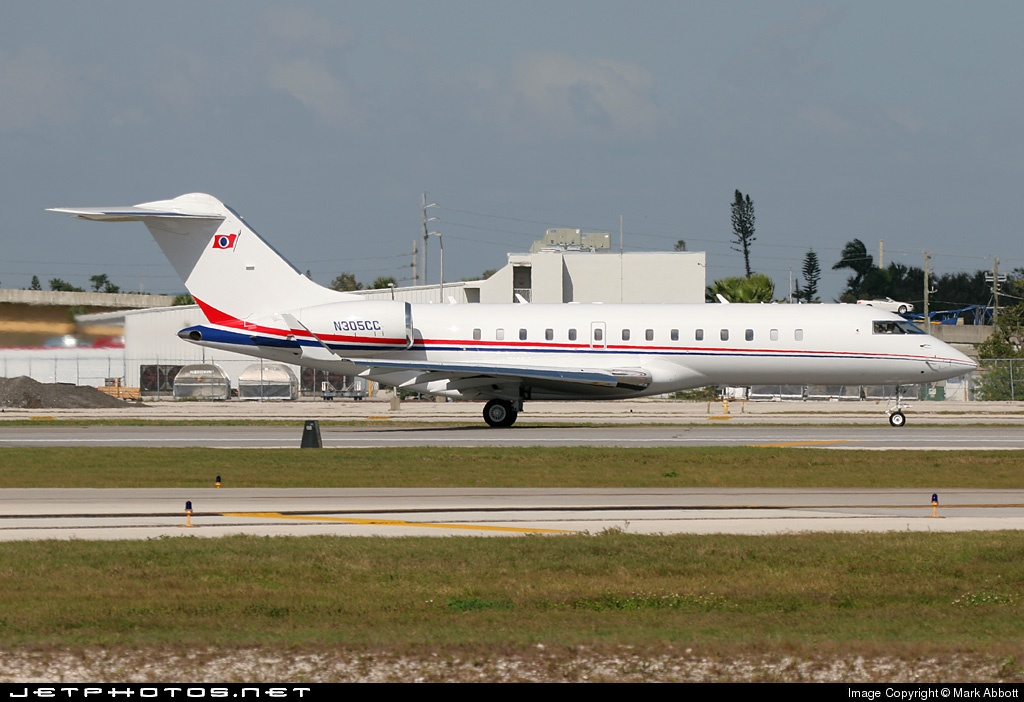 N305CC - Bombardier BD-700-1A10 Global Express - Private