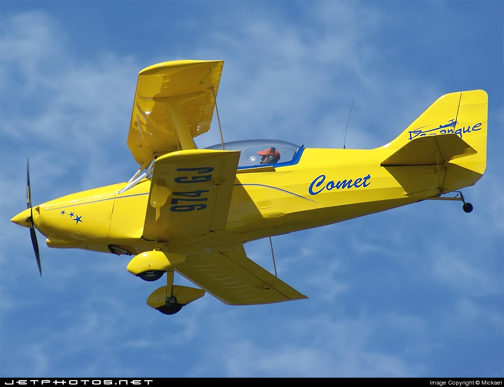 F-JMBS - Fk-Lightplanes FK-12 Comet - Papangue ULM