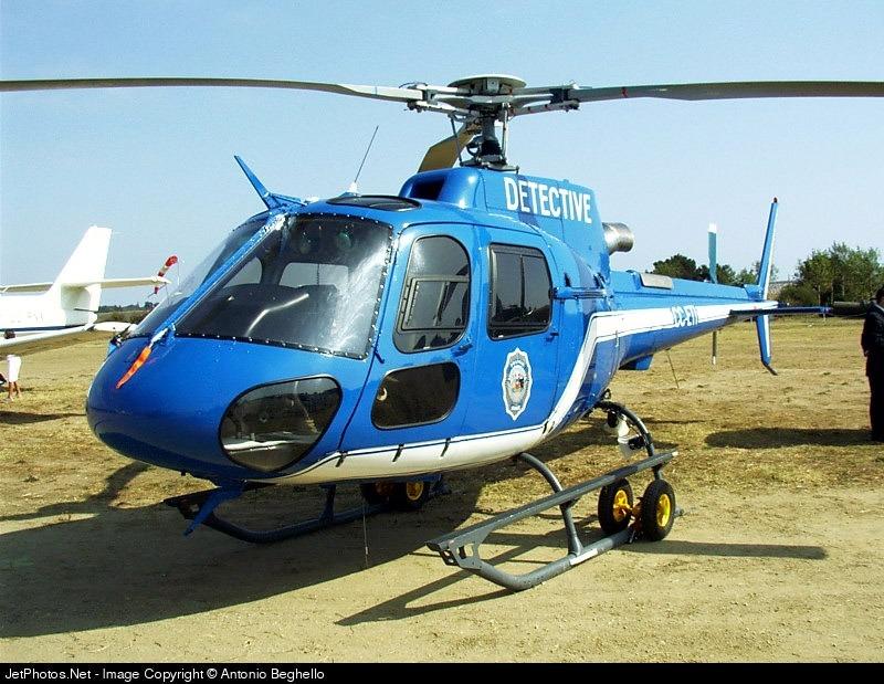 CC-ETI - Aérospatiale AS 350B3 Ecureuil - Chile - Police