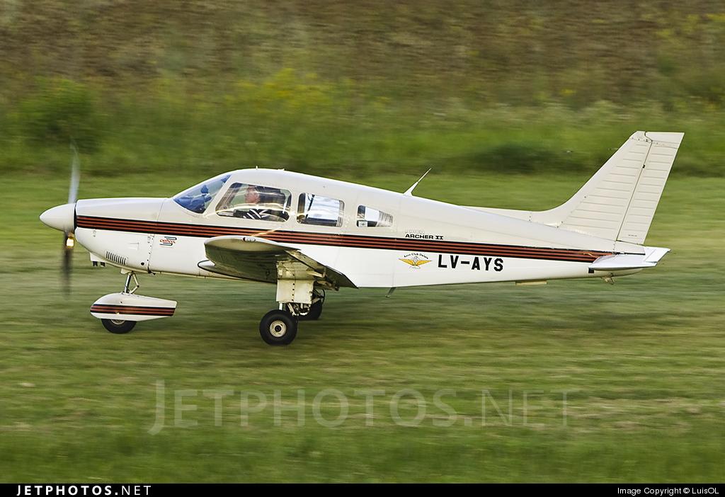 LV-AYS - Piper PA-28-181 Archer II - Aero Club - J.A. Dalale