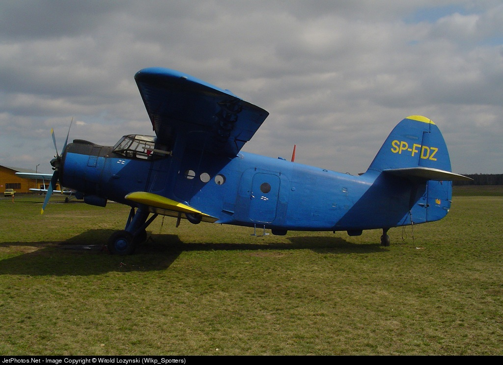 SP-FDZ - PZL-Mielec An-2 - Aero Club - Elblaski