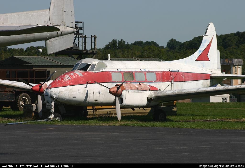 N557JC - De Havilland DH-104 Dove 5A - Mid Atlantic Air Museum