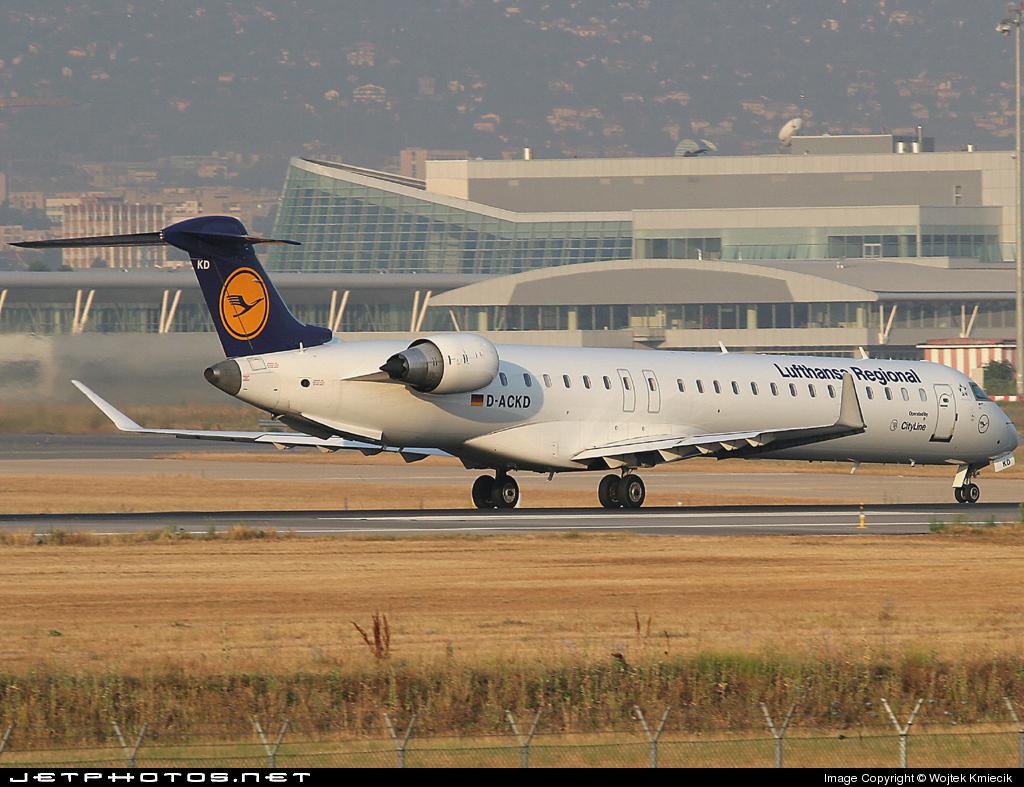 D-ACKD - Bombardier CRJ-900ER - Lufthansa Regional (CityLine)