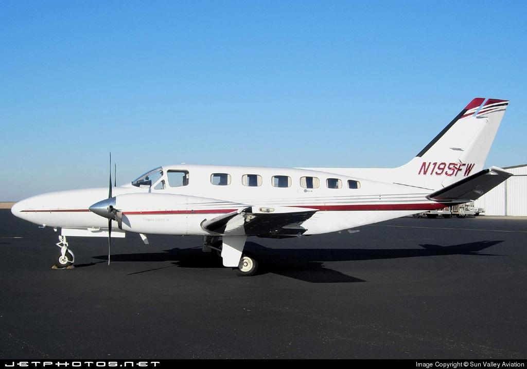N195FW - Cessna 441 Conquest II - Private