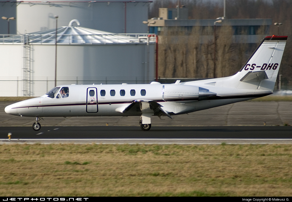 CS-DHG - Cessna 550B Citation Bravo - NetJets Europe