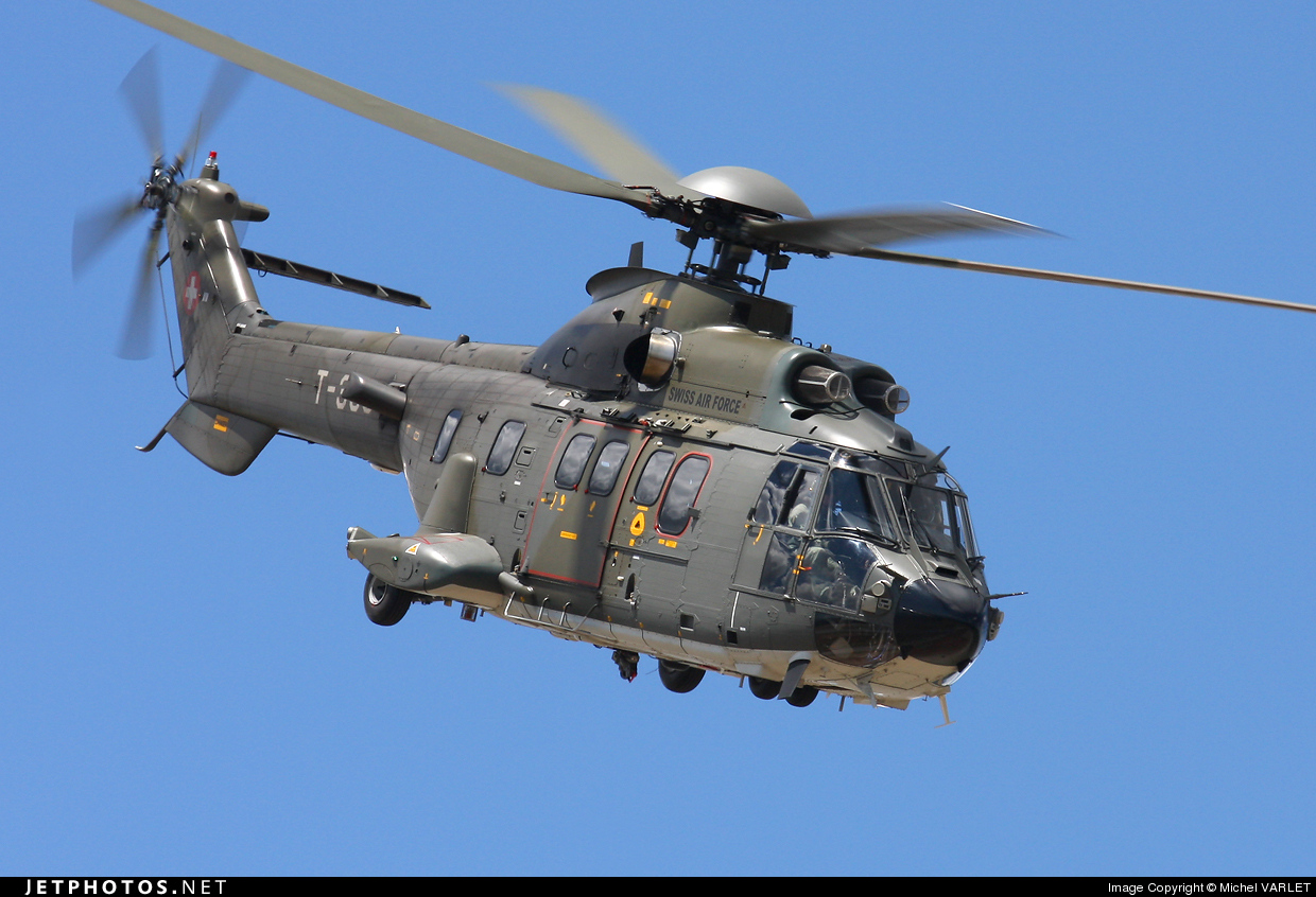 T-338 - Eurocopter AS 532UL Cougar - Switzerland - Air Force