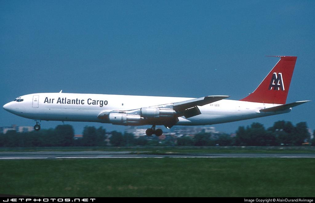 5N-EEO - Boeing 707-321C - Air Atlantic Cargo