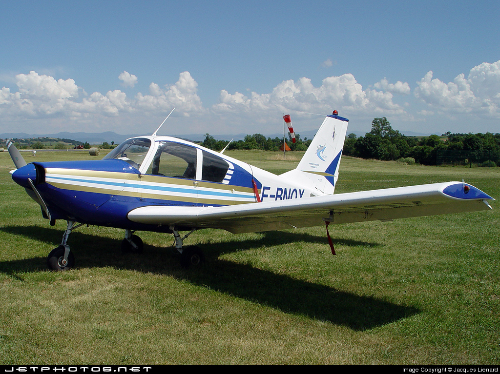 F-BNQX - Gardan GY-80-180 Horizon - Aero Club - René Barbaro de l'Aérospatiale Toulousaine