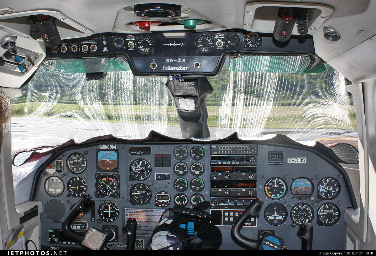 F-OIJS - Britten-Norman BN-2B-20 Islander - St Barth Commuter