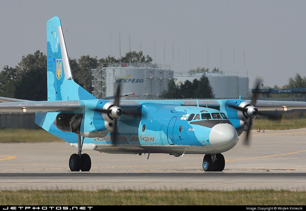 09 - Antonov An-26 - Ukraine - Navy