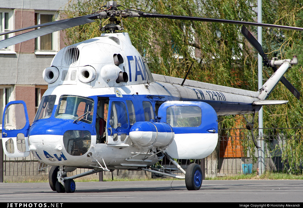 EW-124AO - Mil Mi-2 Hoplite - Belarus - Police