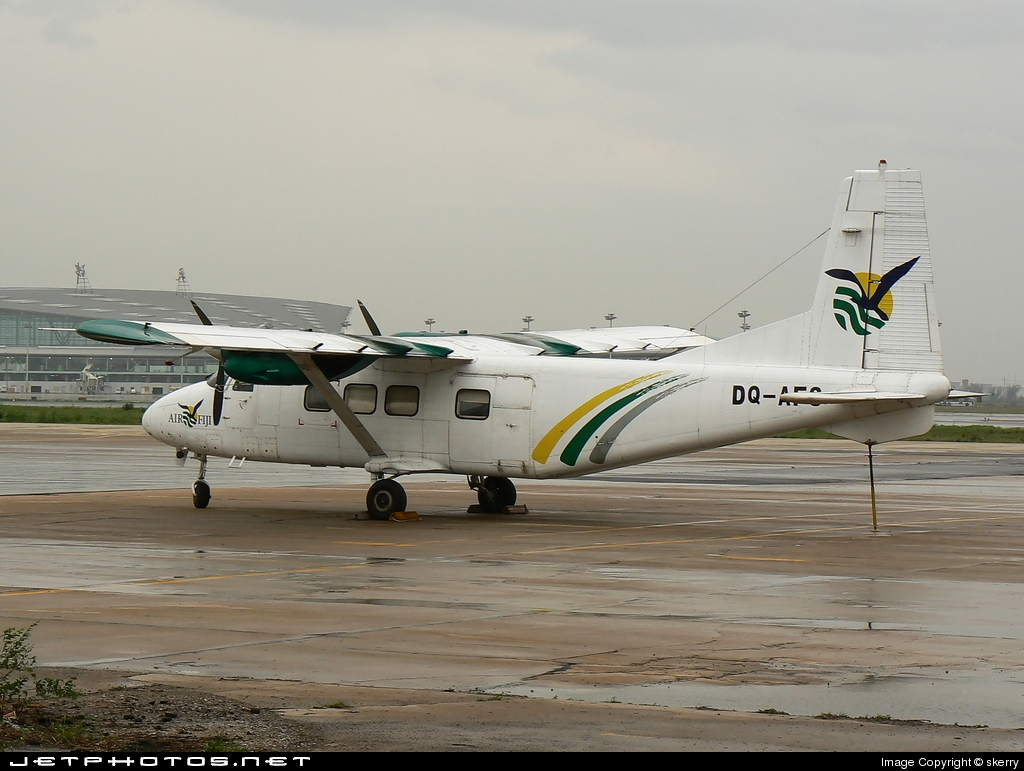 DQ-AFS - Harbin Y-12 II - Air Fiji