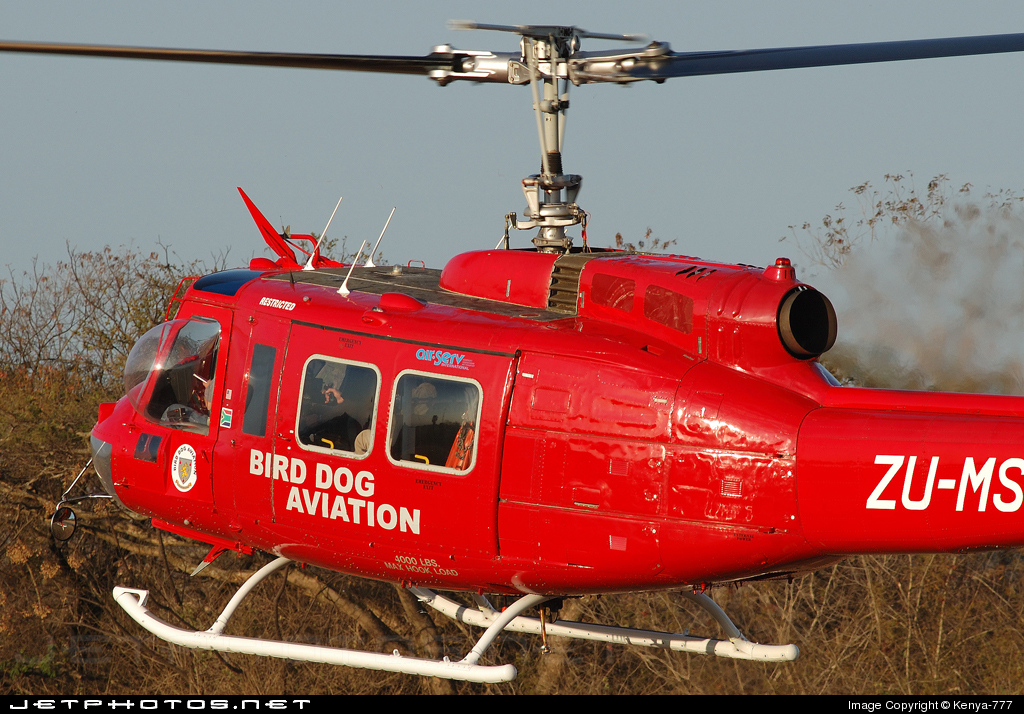 ZU-MST - Bell UH-1H Iroquois - Birdog Aviation