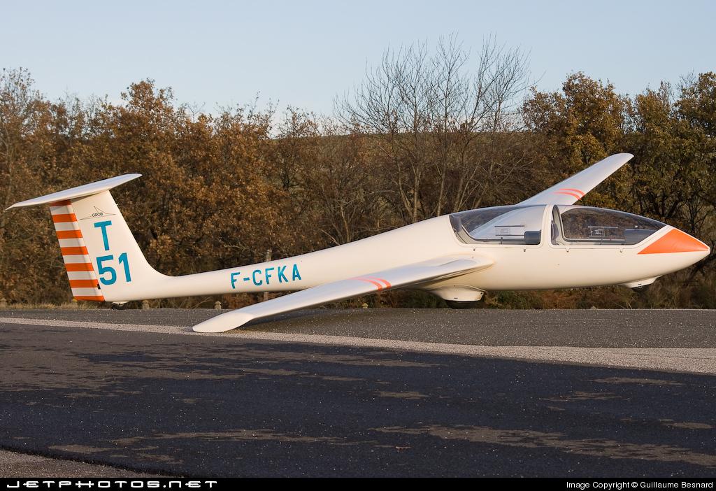 F-CFKA - Grob G103 Twin II - Private