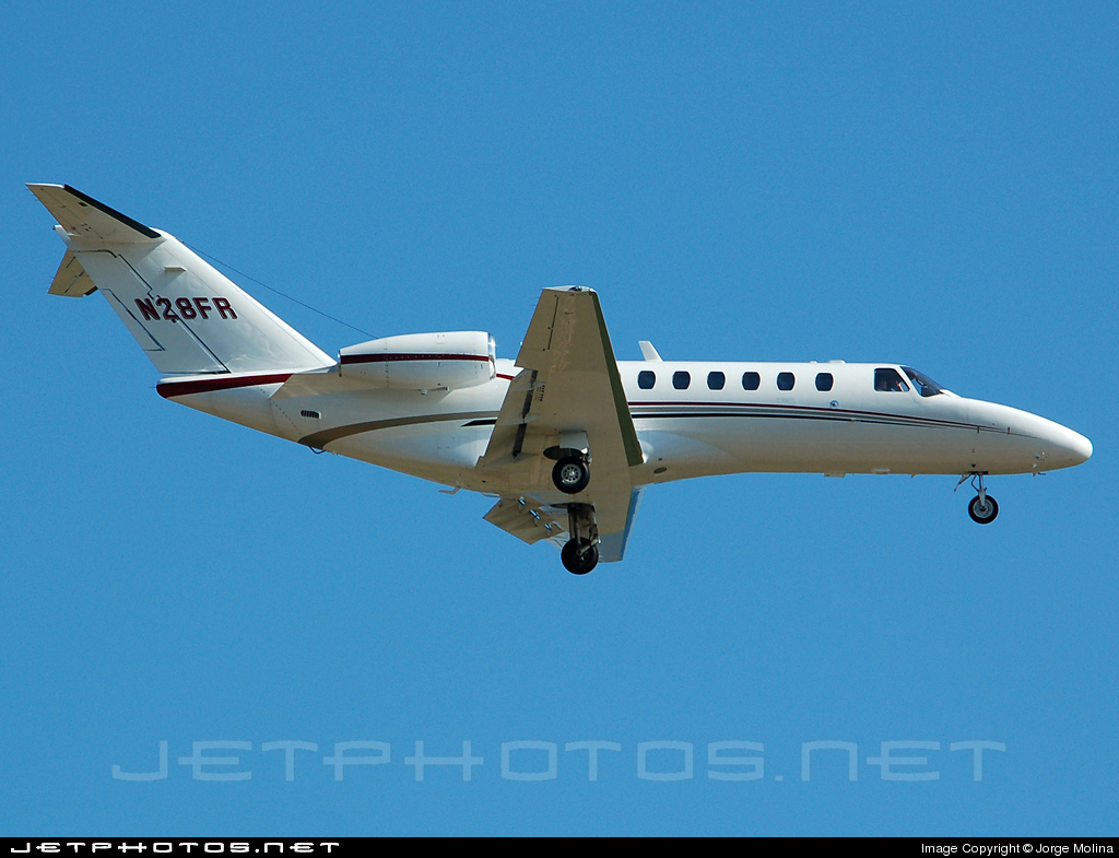 N28FR - Cessna 525B CitationJet 3 - Private