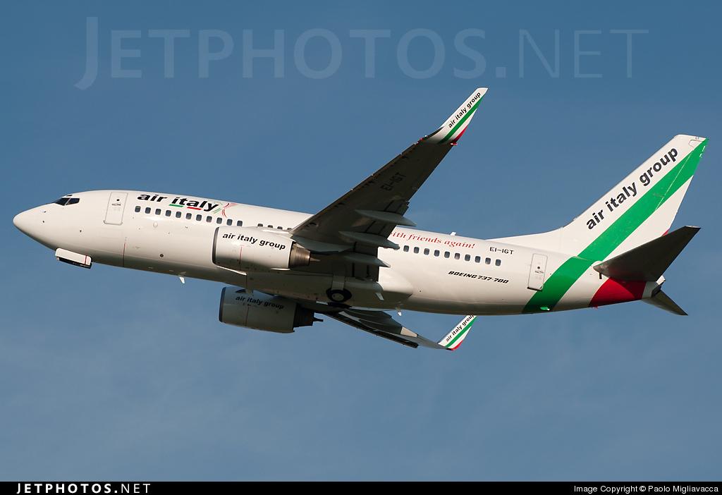 EI-IGT - Boeing 737-73V - Air Italy