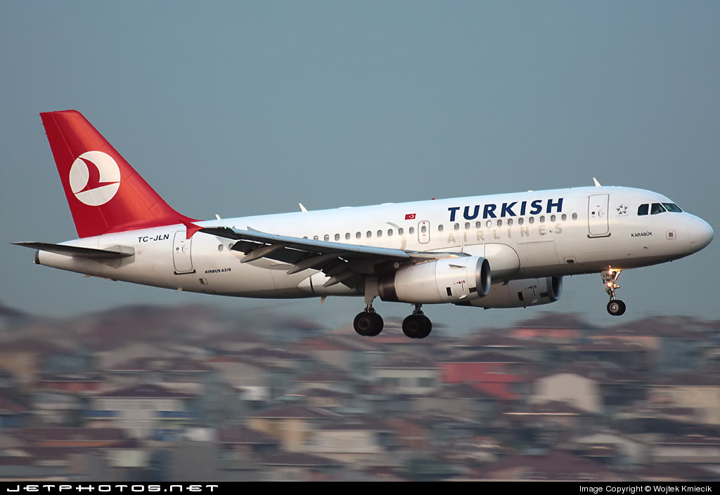 TC-JLN - Airbus A319-132 - Turkish Airlines