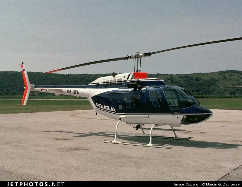 S5-HPE - Agusta-Bell AB-206B JetRanger III - Slovenia - Police