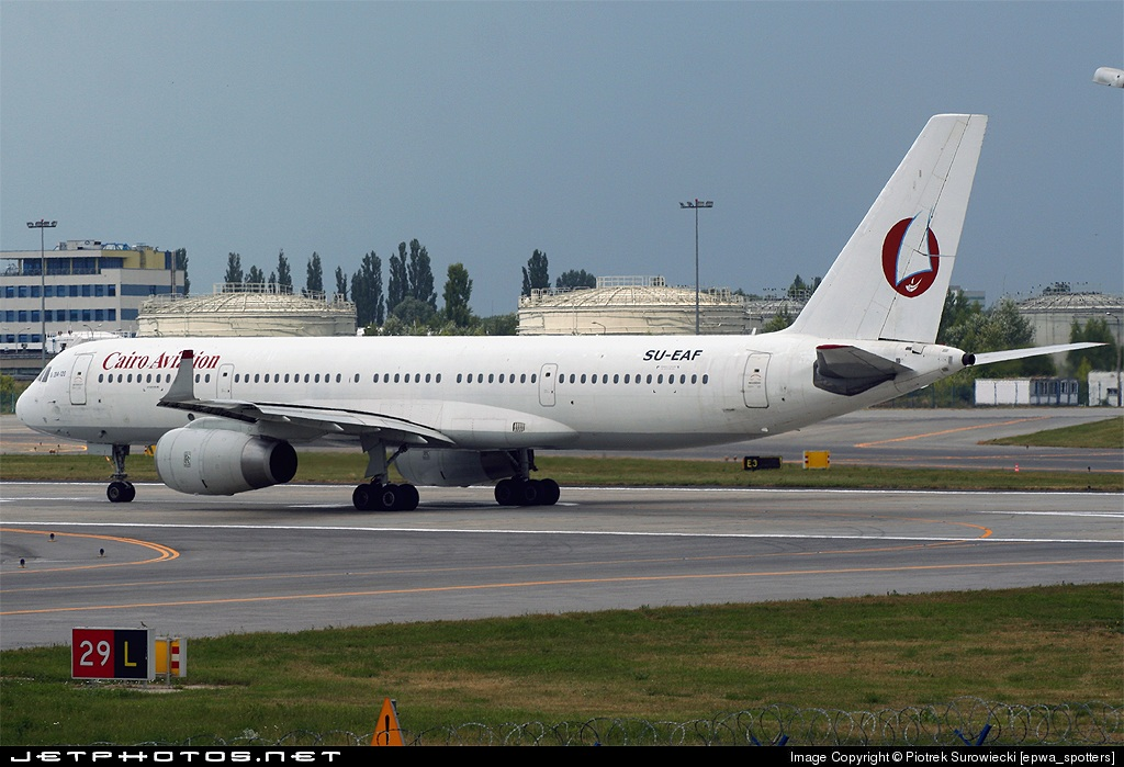 SU-EAF - Tupolev Tu-204-120 - Cairo Aviation