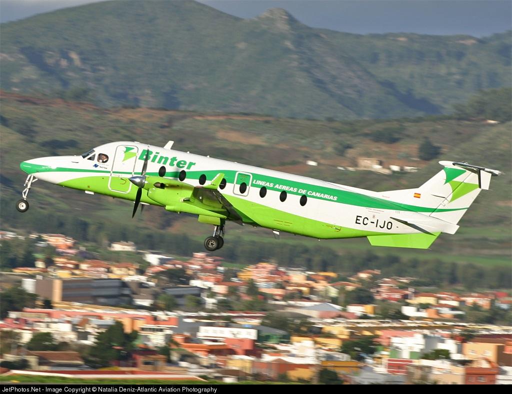 EC-IJO - Beech 1900D - Binter Canarias (Naysa)