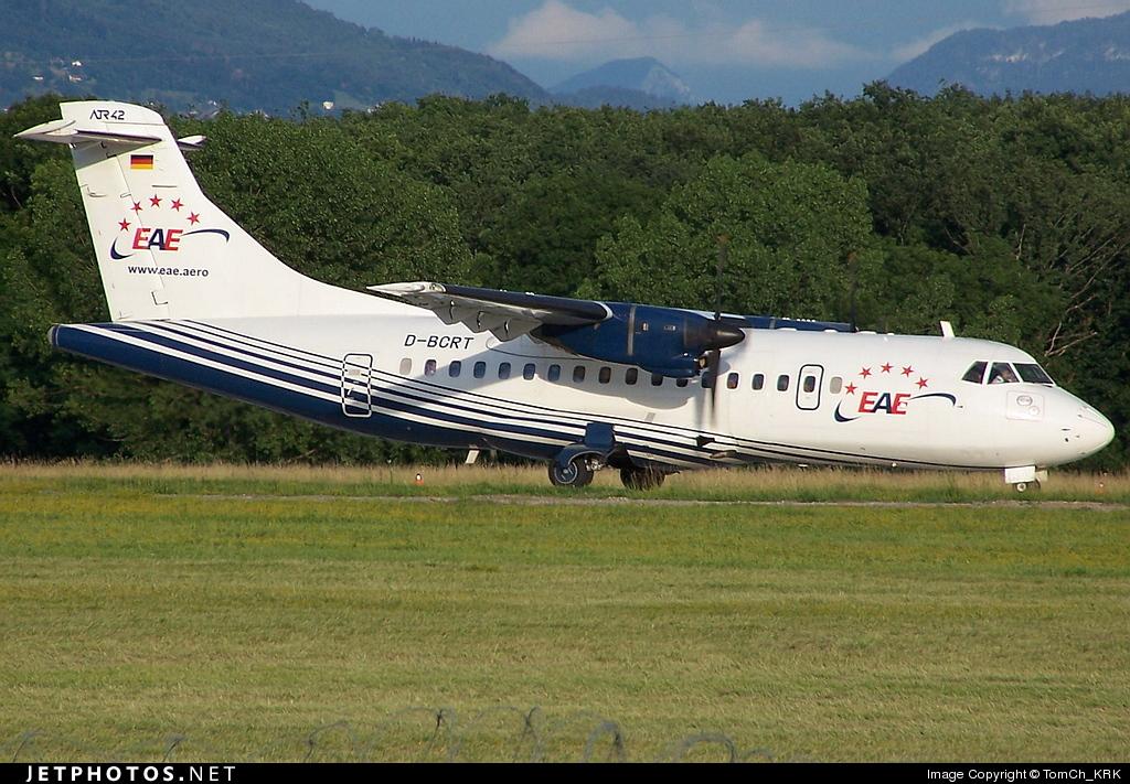 D-BCRT - ATR 42-300 - European Air Express (EAE)