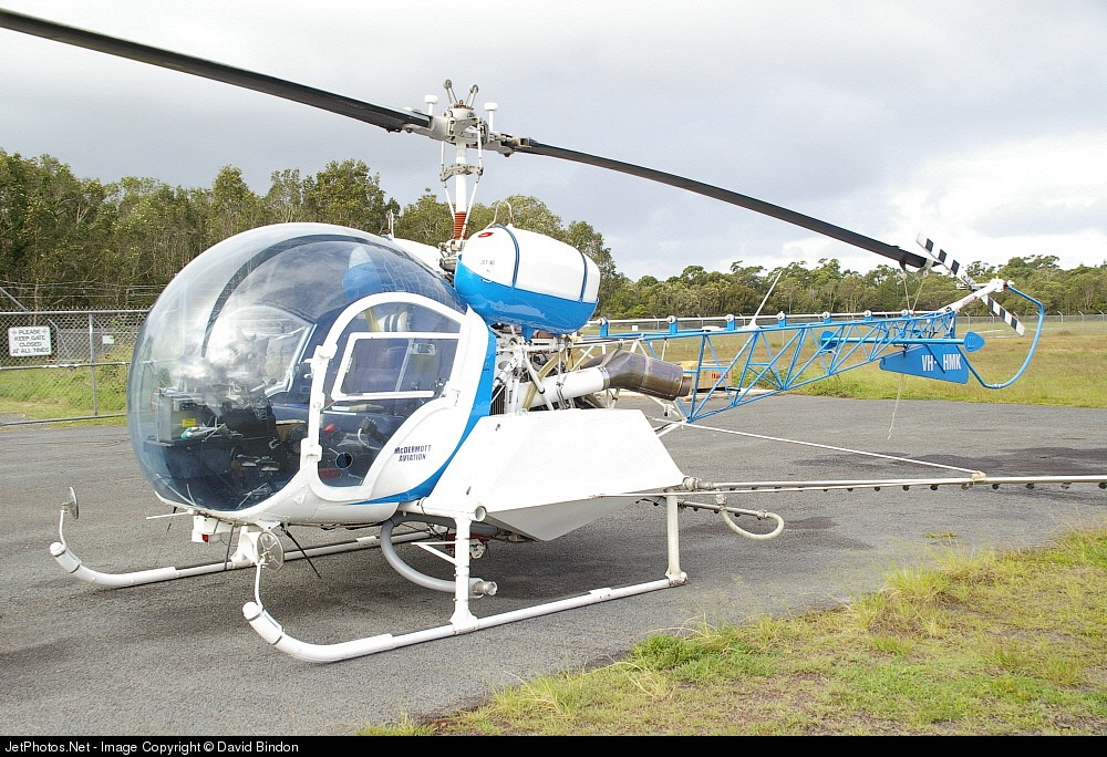 VH-HMK - Bell 47 - McDermott Aviation