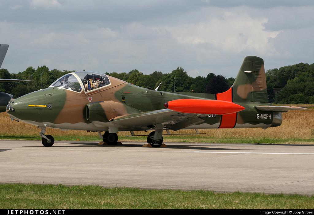 G-MXPH - British Aircraft Corporation BAC 167 Strikemaster - Private
