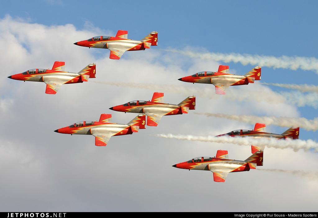 1 - CASA C-101 Aviojet - Spain - Air Force
