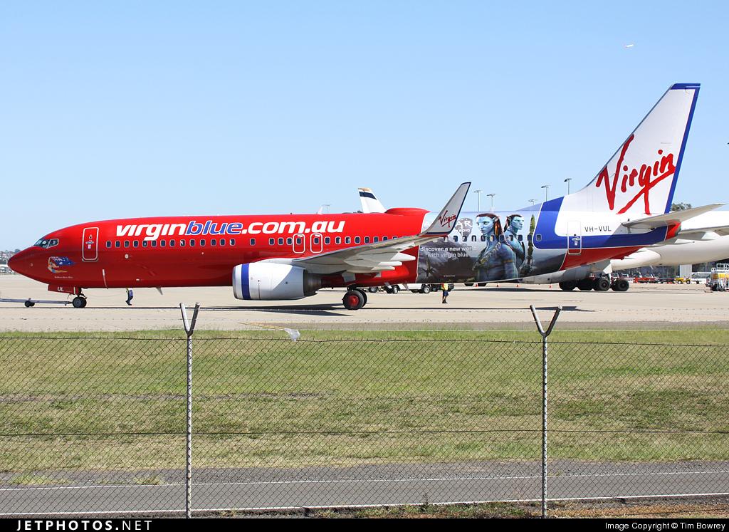 VH-VUL - Boeing 737-8FE - Virgin Blue