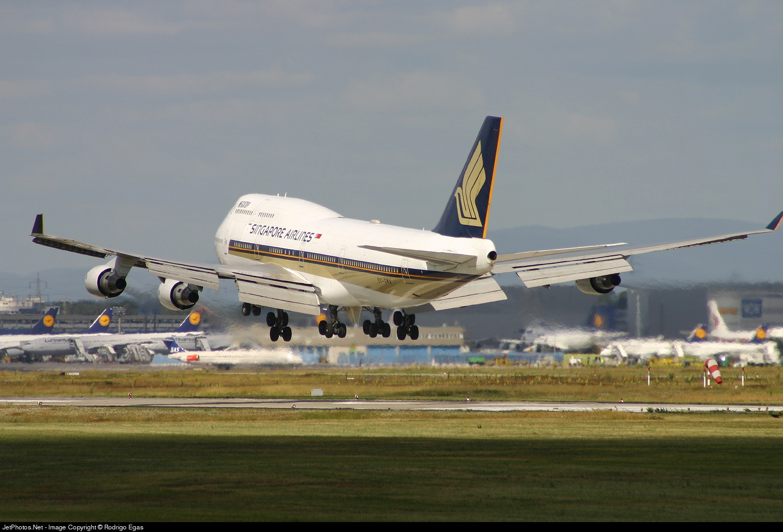 9V-SMV - Boeing 747-412 - Singapore Airlines