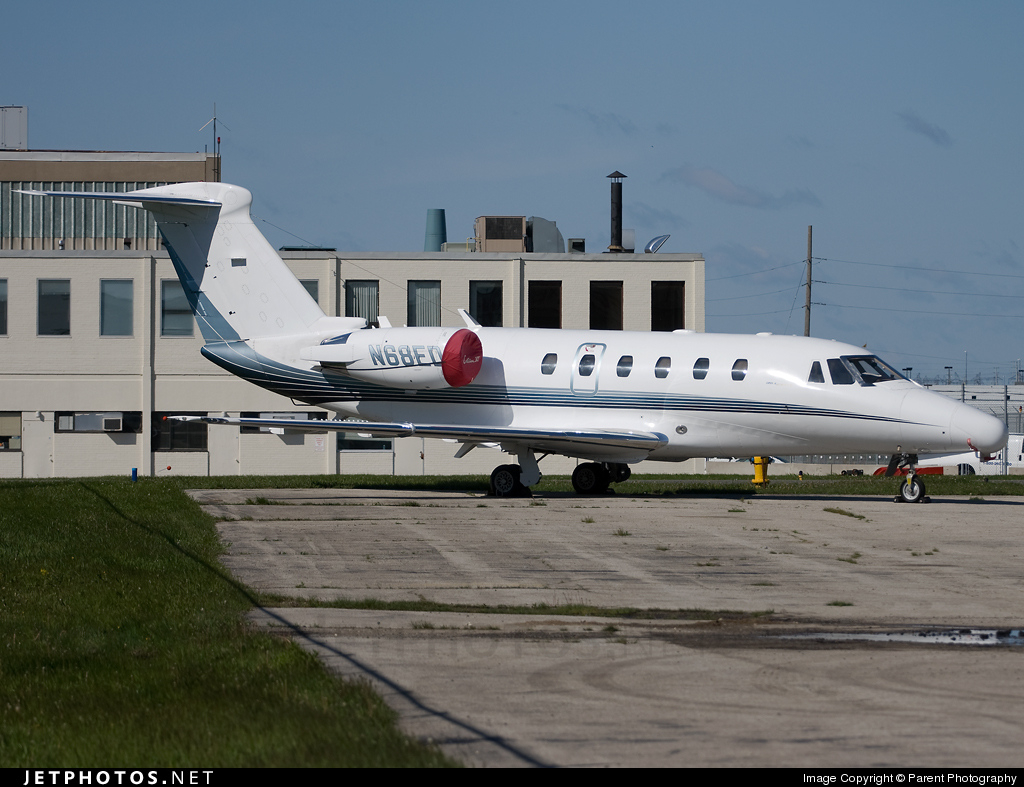 N68ED - Cessna 650 Citation VI - Private