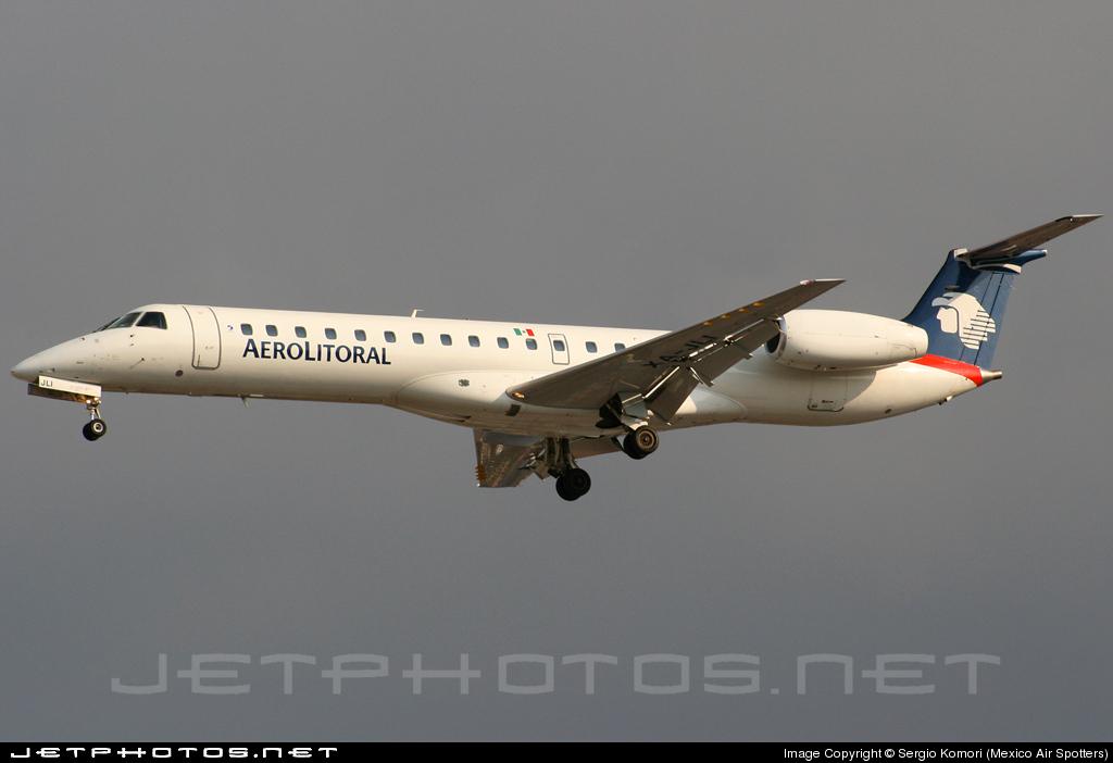 XA-JLI - Embraer ERJ-145LR - Aerolitoral