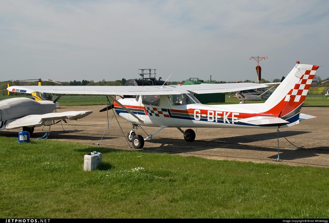 G-BFKF - Cessna A152 Aerobat - Private