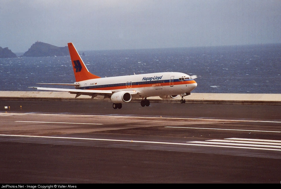 D-AHFZ - Boeing 737-8K5 - Hapag-Lloyd