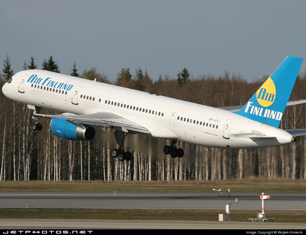 OH-AFJ - Boeing 757-28A - Air Finland
