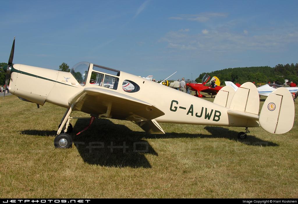 G-AJWB - Miles M38 Messenger 2A - Private