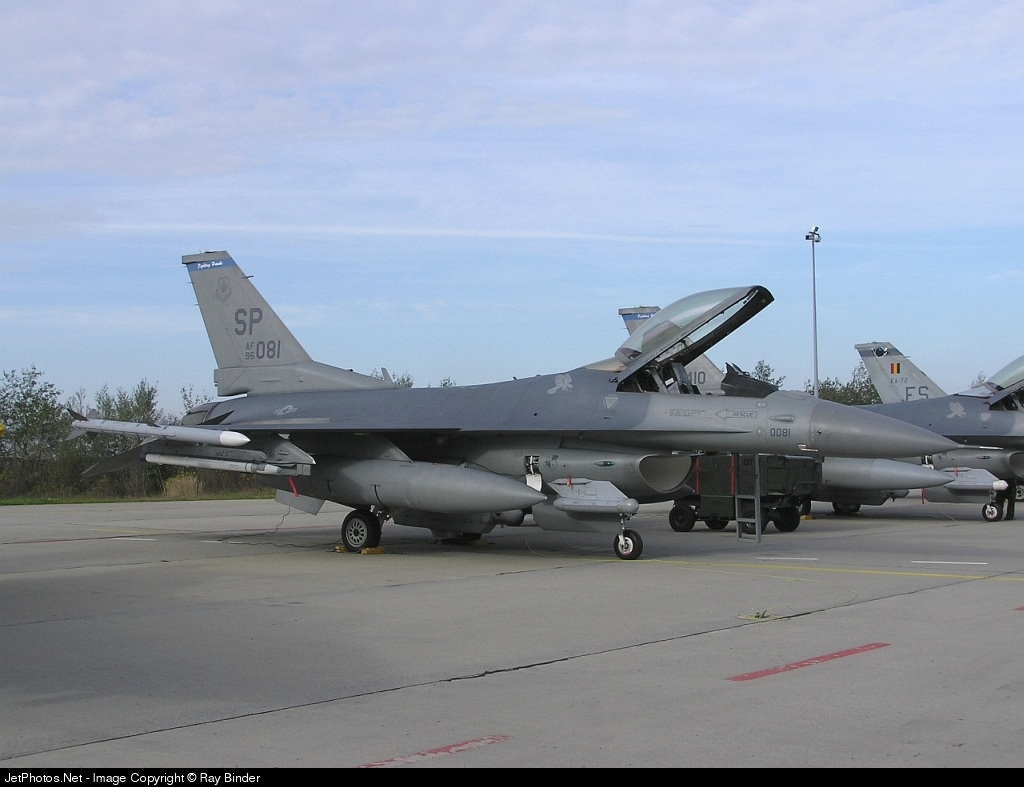 96-0081 - Lockheed Martin F-16CJ Fighting Falcon - United States - US Air Force (USAF)