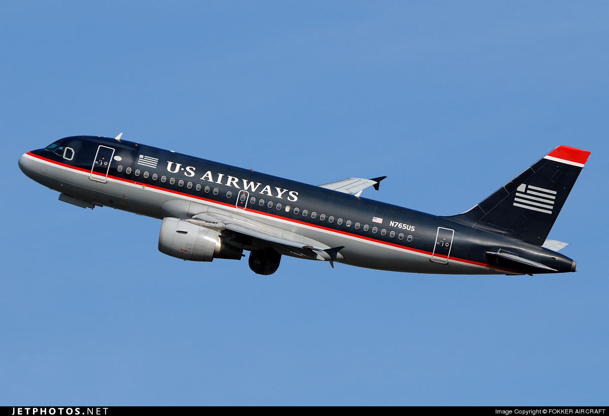 N765US - Airbus A319-112 - US Airways