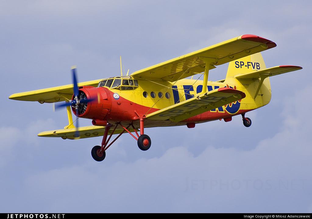 SP-FVB - PZL-Mielec An-2 - Private