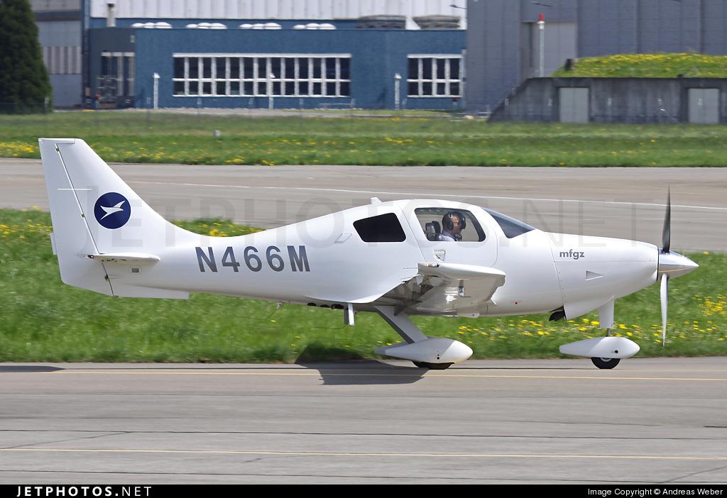 N466M - Columbia 400 - Motorfluggruppe Zurich