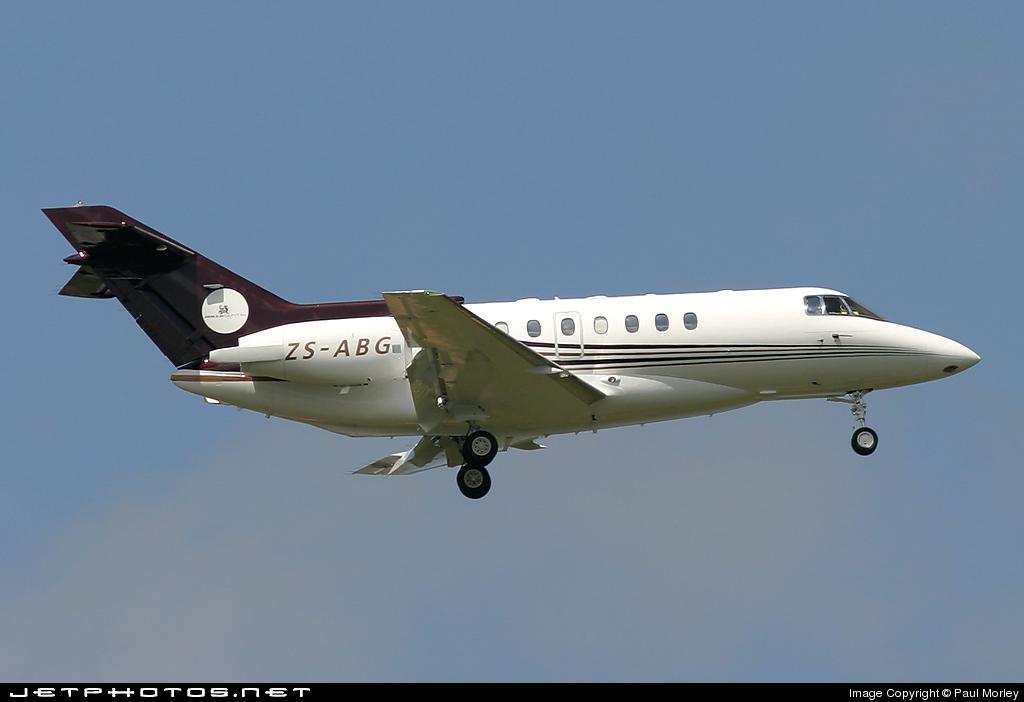 ZS-ABG - British Aerospace BAe 125-1000 - Untitled