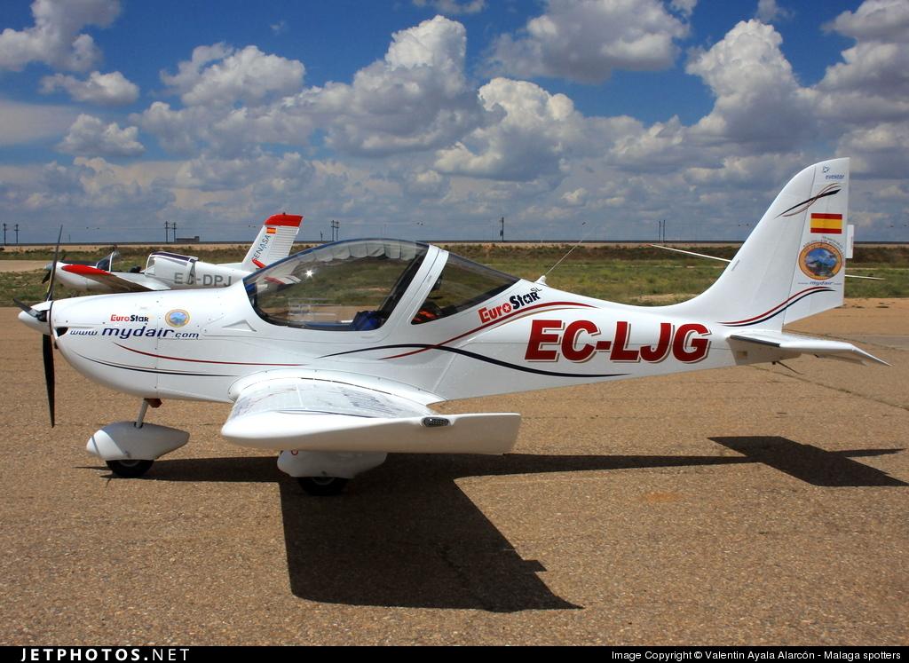 EC-LJG - Evektor EV97 Eurostar - Private