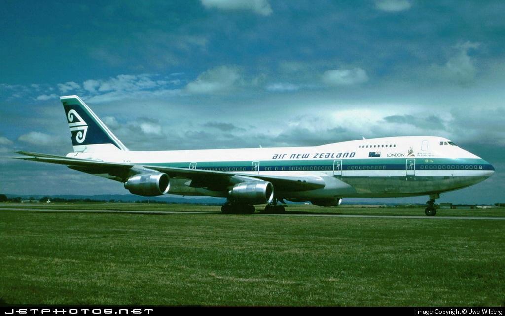 ZK-NZW - Boeing 747-219B - Air New Zealand